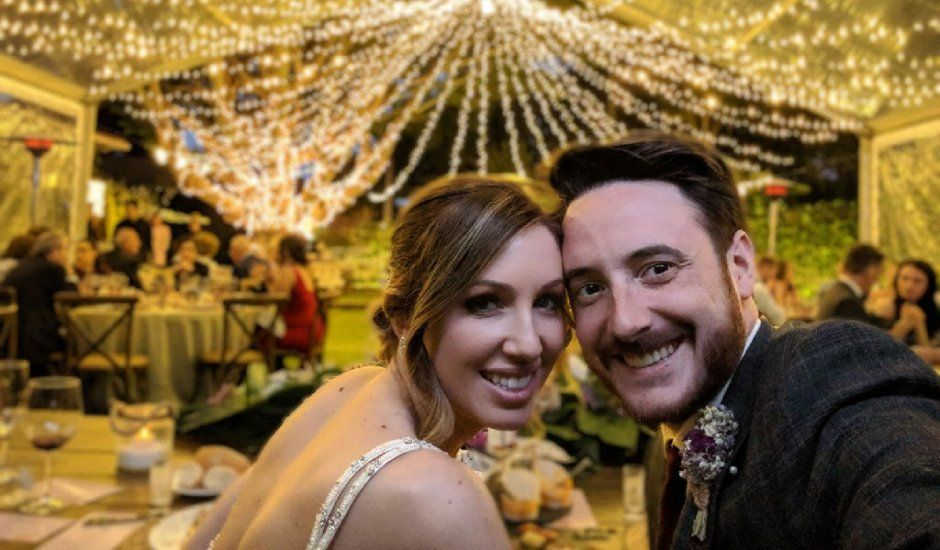 La boda de Scott y Fátima en Firgas, Las Palmas
