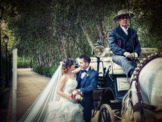 La boda de Melania y Ruben