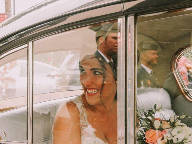 La boda de Mario y Mireia en La Orotava, Santa Cruz de Tenerife 17