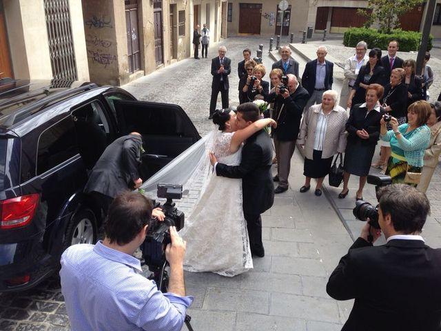 La boda de Alberto y Estela en Tudela, Navarra 3