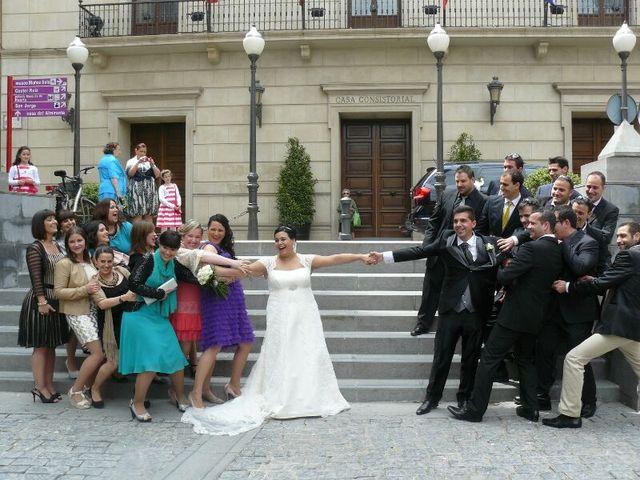 La boda de Alberto y Estela en Tudela, Navarra 12