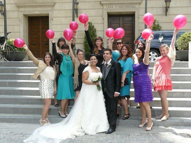 La boda de Alberto y Estela en Tudela, Navarra 1