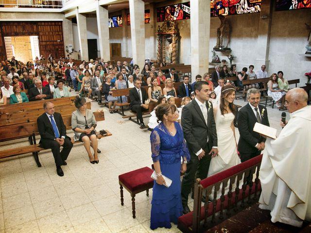 La boda de Oscar y Diana en Benavente, Zamora 14