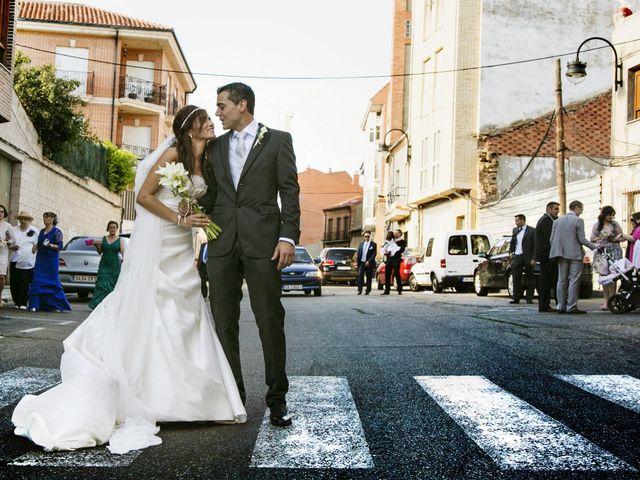La boda de Oscar y Diana en Benavente, Zamora 18
