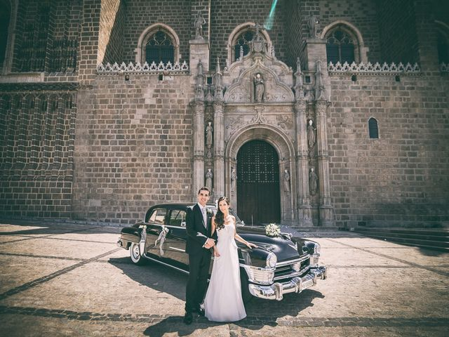 La boda de Cristobal y Felicie en Toledo, Toledo 28