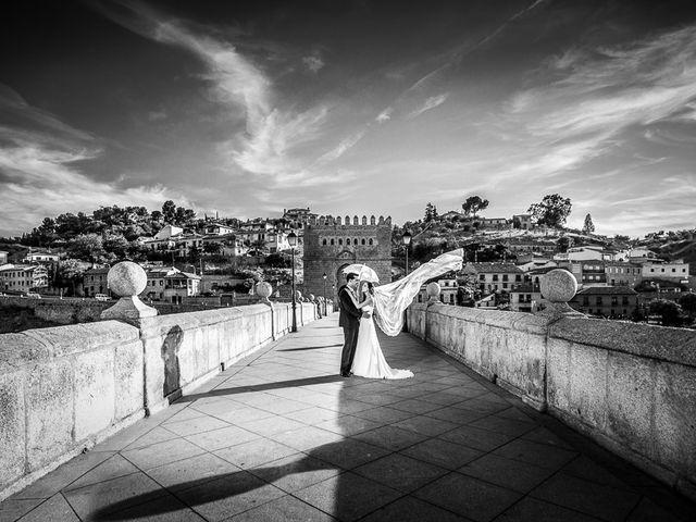 La boda de Cristobal y Felicie en Toledo, Toledo 43