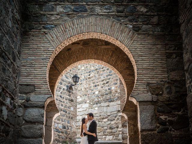 La boda de Cristobal y Felicie en Toledo, Toledo 46