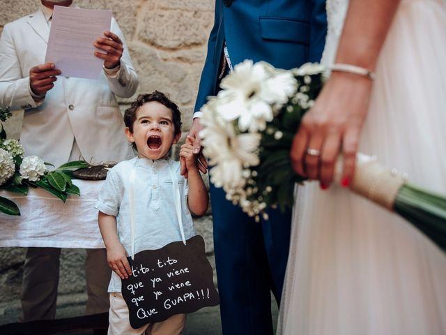 La boda de Iago y Silvia en Sangiago (Amoeiro), Orense 1