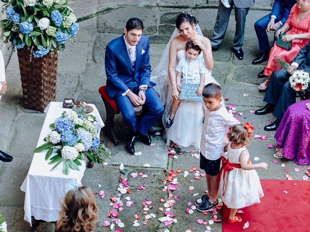 La boda de Iago y Silvia en Sangiago (Amoeiro), Orense 31
