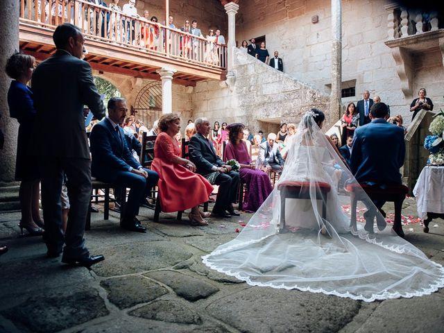 La boda de Iago y Silvia en Sangiago (Amoeiro), Orense 2