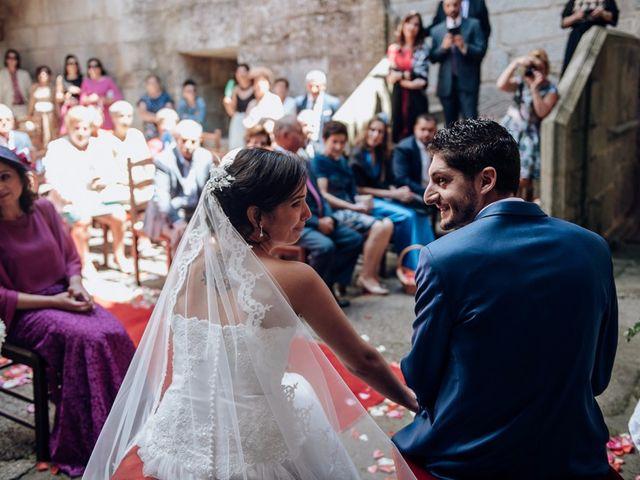 La boda de Iago y Silvia en Sangiago (Amoeiro), Orense 38