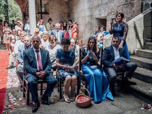 La boda de Iago y Silvia en Sangiago (Amoeiro), Orense 49