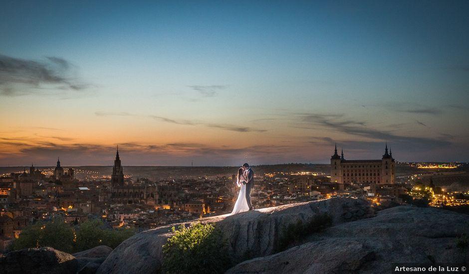 La boda de Cristobal y Felicie en Toledo, Toledo