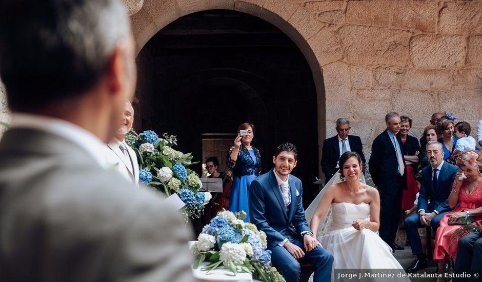 La boda de Iago y Silvia en Sangiago (Amoeiro), Orense