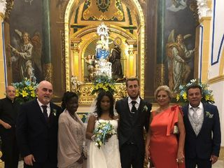 La boda de Fabiola  y Pedro 1