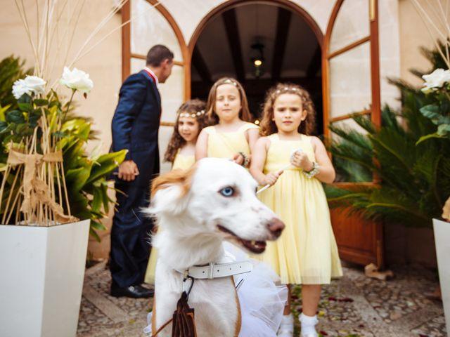 La boda de Alex y Raquel en Llubí, Islas Baleares 17