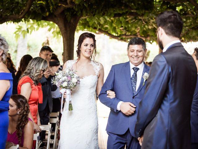 La boda de Albert y Sara en Sant Vicenç De Montalt, Barcelona 20