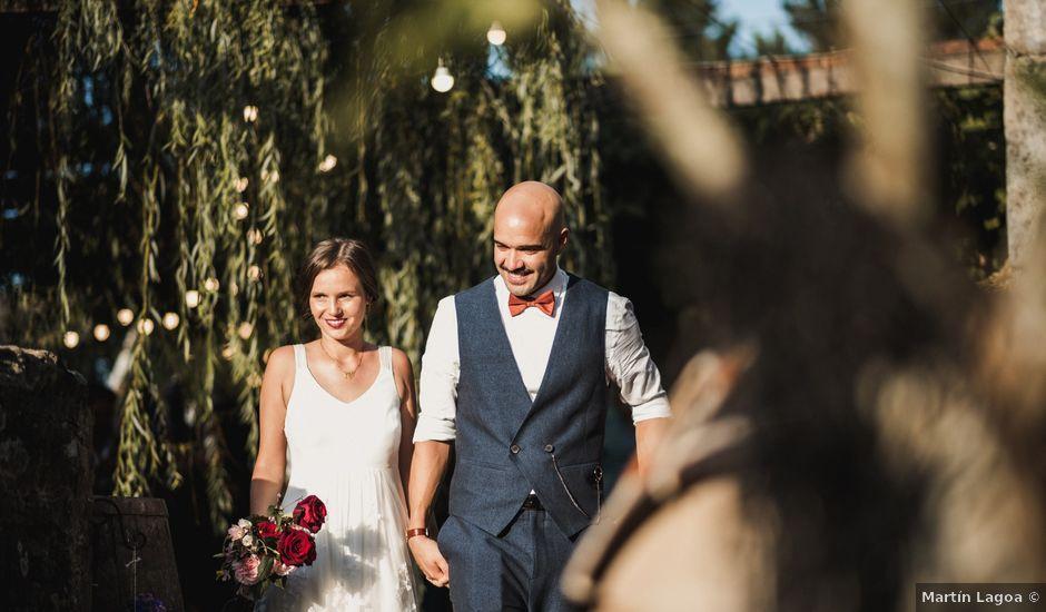 La boda de Germán y Kasia en Porto Do Son, A Coruña