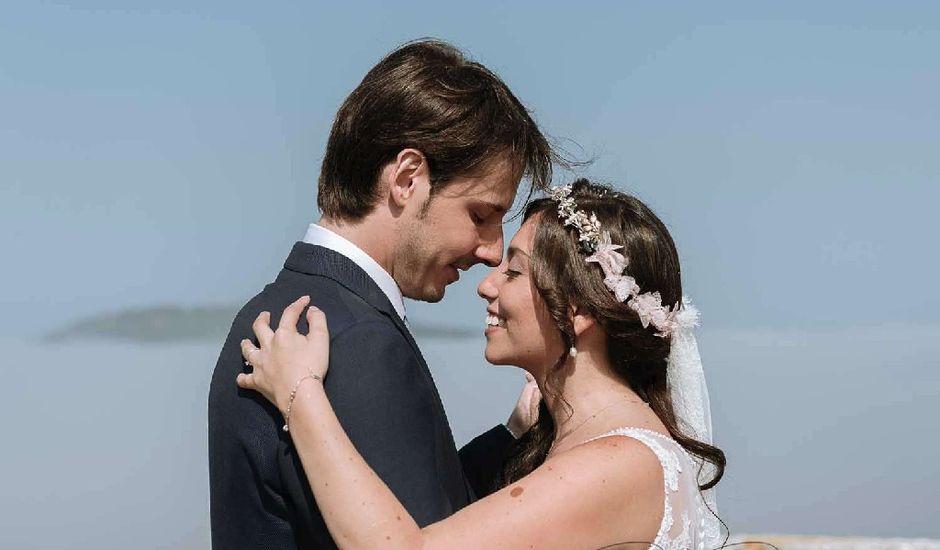 La boda de Pablo y Lina  en Baiona, Pontevedra