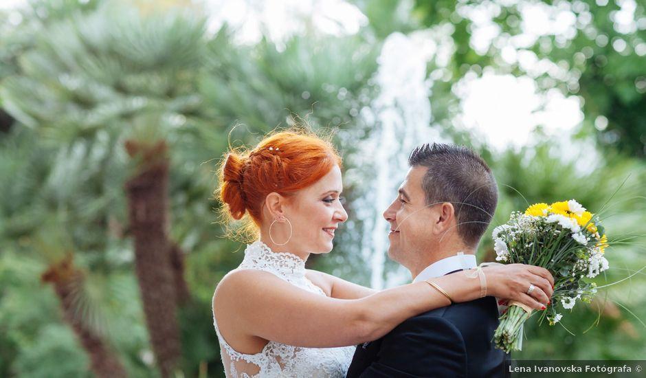 La boda de Alex y Raquel en Llubí, Islas Baleares