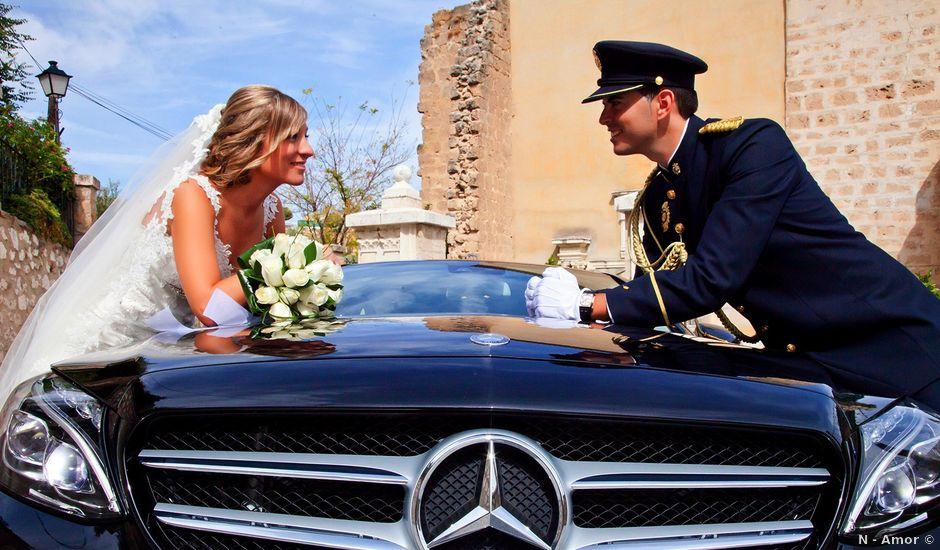 La boda de Miguel Ángel y Isabel en Mancha Real, Jaén