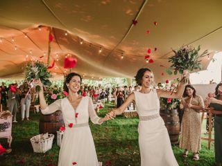 La boda de Paula y Irati