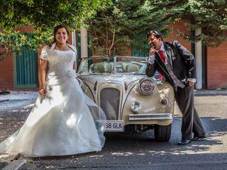 La boda de Virginia y Valentín