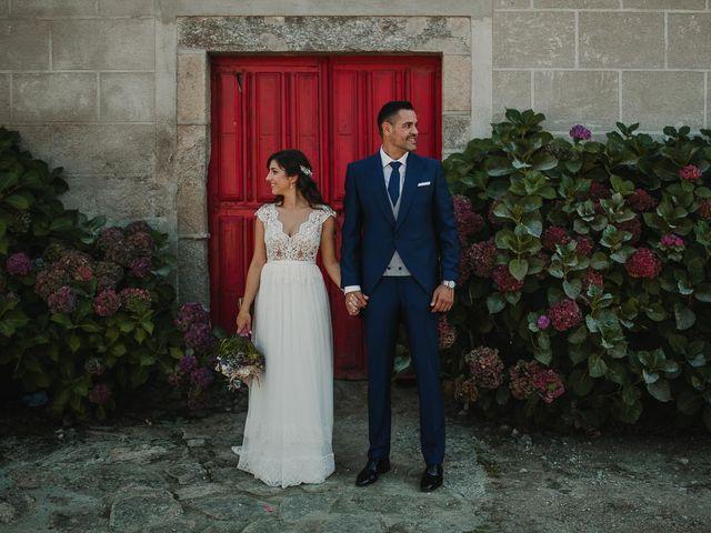 La boda de Alejandro y Ariadna en Monforte de Lemos, Lugo 66