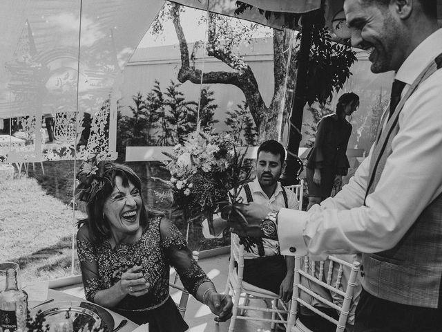 La boda de Alejandro y Ariadna en Monforte de Lemos, Lugo 80