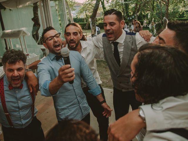 La boda de Alejandro y Ariadna en Monforte de Lemos, Lugo 86
