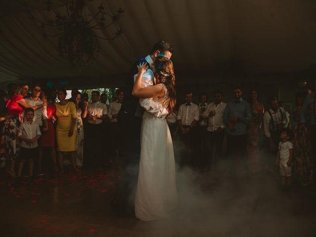 La boda de Alejandro y Ariadna en Monforte de Lemos, Lugo 89