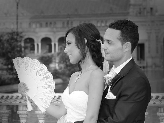 La boda de Antonio y Tamara en Santiponce, Sevilla 1