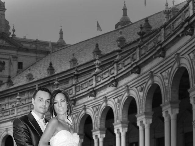 La boda de Antonio y Tamara en Santiponce, Sevilla 2
