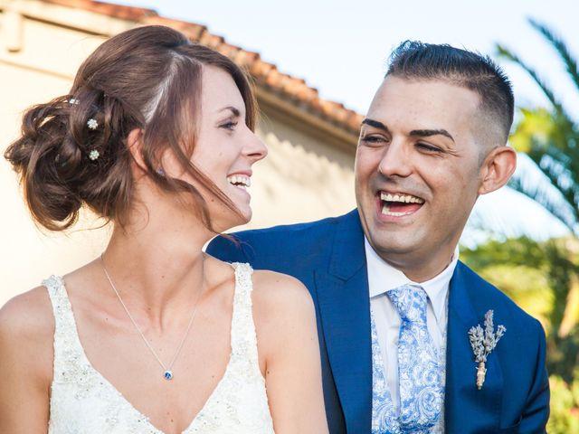 La boda de Alba y Siscu