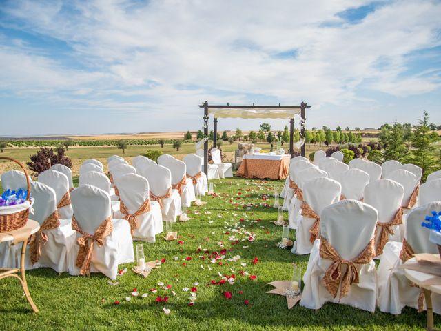 La boda de Gerardo y Melissa en Tiedra, Valladolid 7