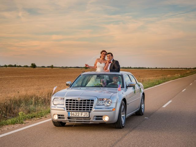 La boda de Gerardo y Melissa en Tiedra, Valladolid 22