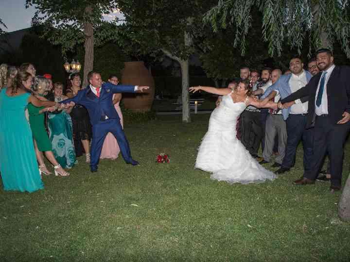 La boda de Miriam y Jhonny