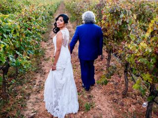 La boda de Olga y Toni