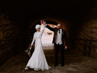 La boda de Insaf y Ali