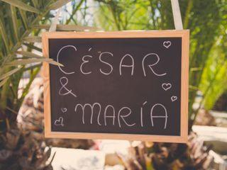 La boda de María y César 1