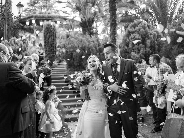 La boda de Lukene y Manuel