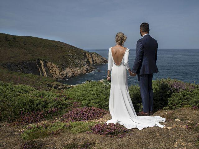 La boda de Andy y Shaila en Bergantiños, A Coruña 1