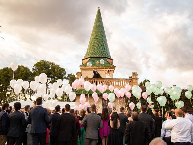 La boda de Juanjo y Blanca en Banyeres Del Penedes, Tarragona 73