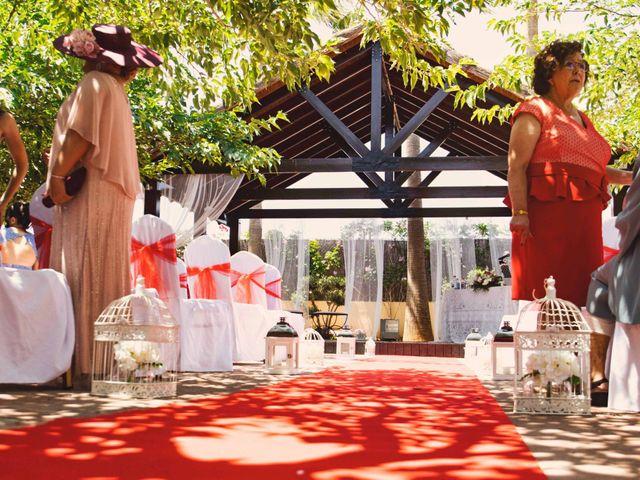 La boda de Cristian y Sonia en Rioja, Almería 18