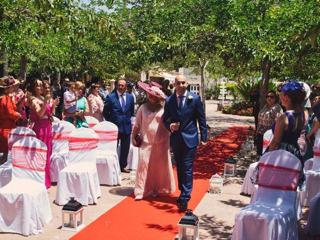 La boda de Cristian y Sonia en Rioja, Almería 22