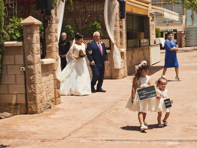La boda de Cristian y Sonia en Rioja, Almería 23