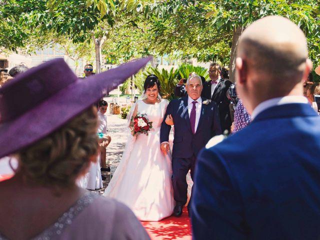 La boda de Cristian y Sonia en Rioja, Almería 24