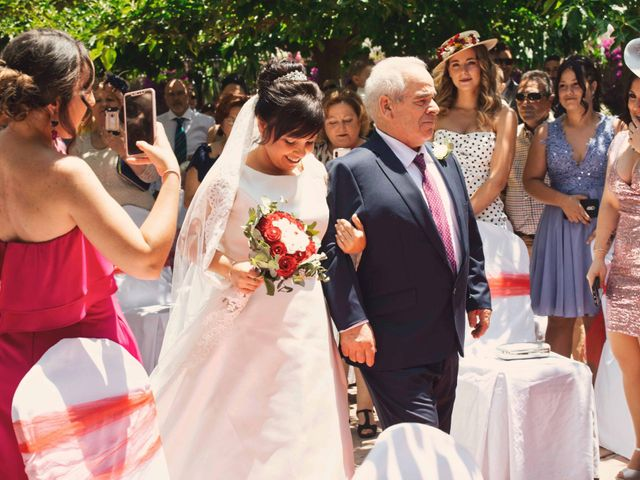 La boda de Cristian y Sonia en Rioja, Almería 25