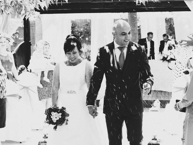 La boda de Cristian y Sonia en Rioja, Almería 42