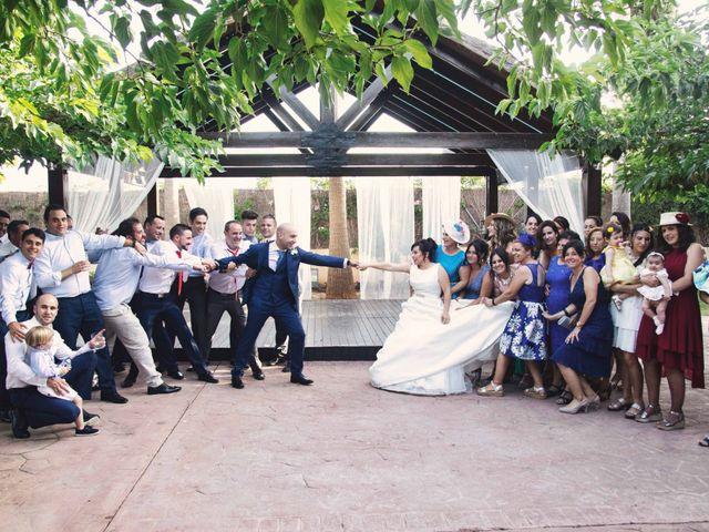 La boda de Cristian y Sonia en Rioja, Almería 70